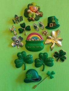 St Patrick's Day Shamrock Green Irish Lot